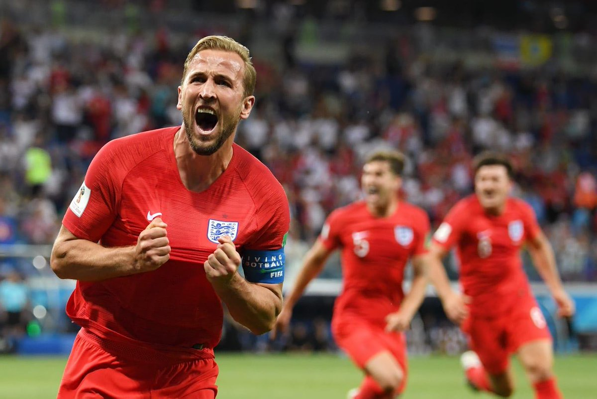 What a feeling to score a winner for @England at the @FIFAWorldCup. Loved it! No less than we deserved. 🦁🦁🦁 #ThreeLions #ENG #WorldCup