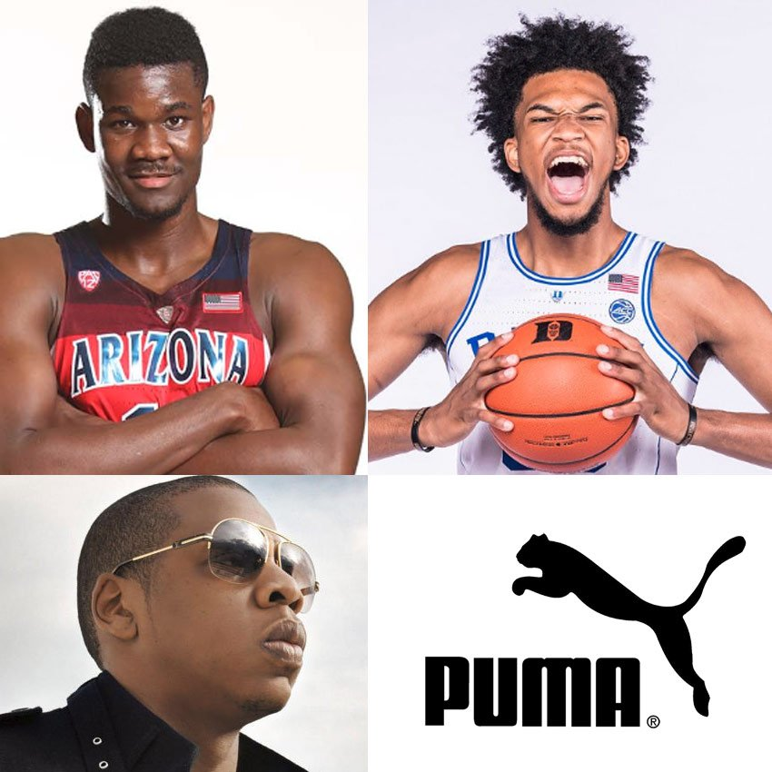 c60ade88f2a Puma names Jay-Z the President of Basketball after signing Marvin Bagley  III   Deandre Ayton! They also signed NBA legend Walt