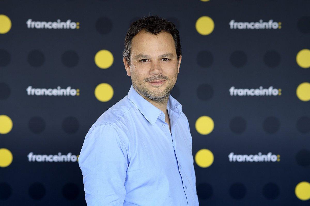 Média - Marc Fauvelle remplace Bruce Toussaint à la présentation de la matinale de France Info (radio) pour la rentrée prochaine. /communique