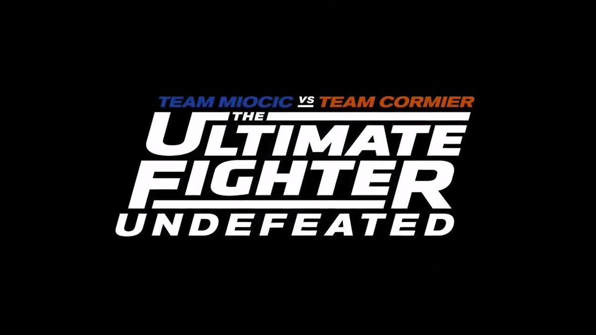 On the next episode of @UltimateFighter... #TUF27