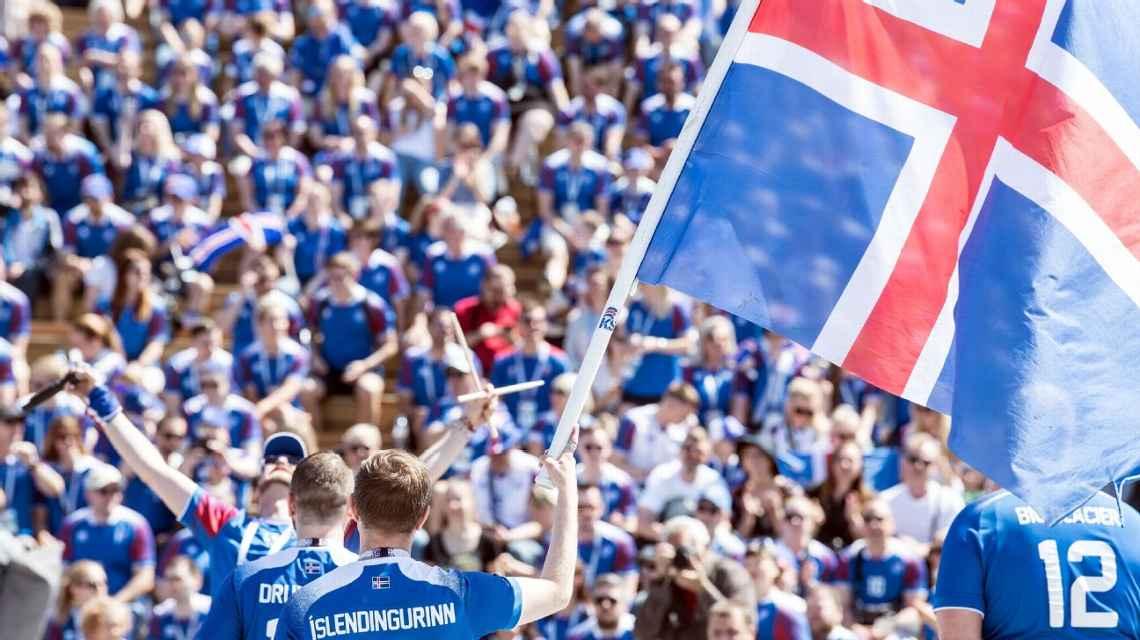 Estreia da Islândia na Copa do Mundo teve 99,6% da audiência de TV no país; VEJA: https://t.co/fsjMS8jFW0 #ESPNnaRússia