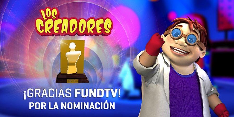 Por 2do año consecutivo estamos nominados a los PREMIOS FUND TV como Mejor Programa Infantil.🏅🚀   ➡Estos premios reconocen a los contenidos de la TV argentina con impacto positivo en la educación 😀 ¡Gracias por creer en la ciencia divertida! @fundtv   https://t.co/W8scofzmkz https://t.co/sAVCoeoCrx