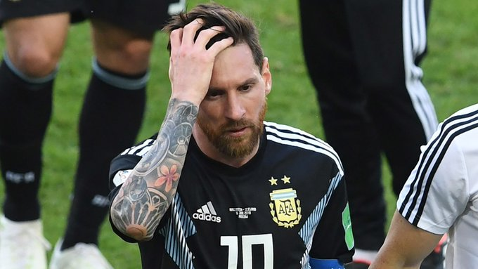 Lionel Messi Pissed After Forgetting To Wear Fitbit During Last Game  Photo