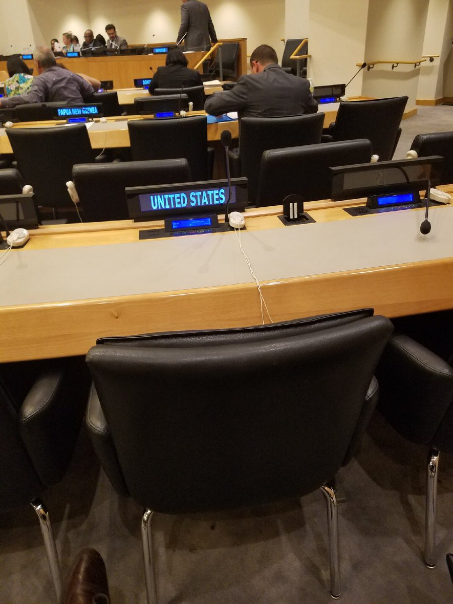 Empty US seat at UN hearings on Puerto Rico...