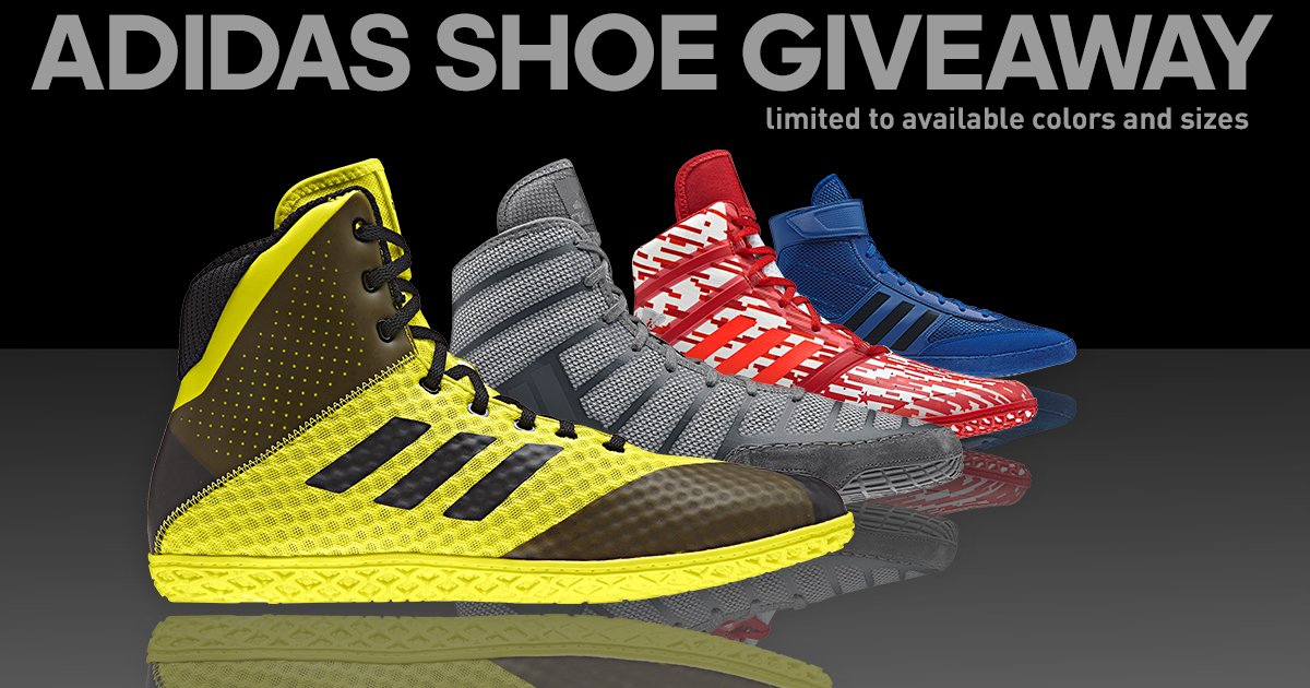 cda2ac31eb6 ... Adidas wrestling shoes! Need gear now? Use the promo code TRACK25 at  checkout and receive 25% off your entire order at  http://adidaswrestling.com today!