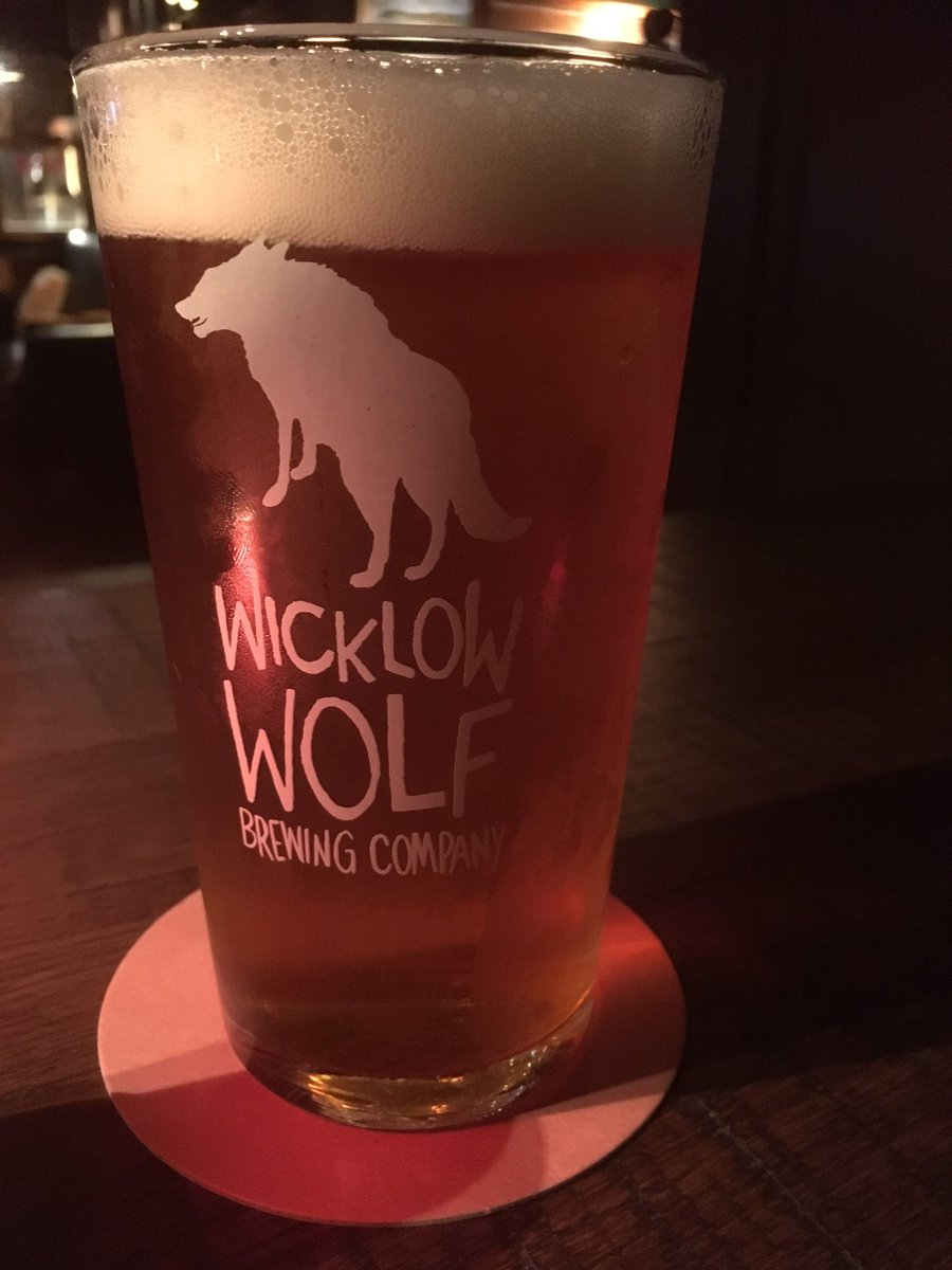 Image for First beer in Bray is obv Elevation Pale. Looking forward to a great collab brew tomorrow with @WWolfBrewery https://t.co/lINytV2E1n