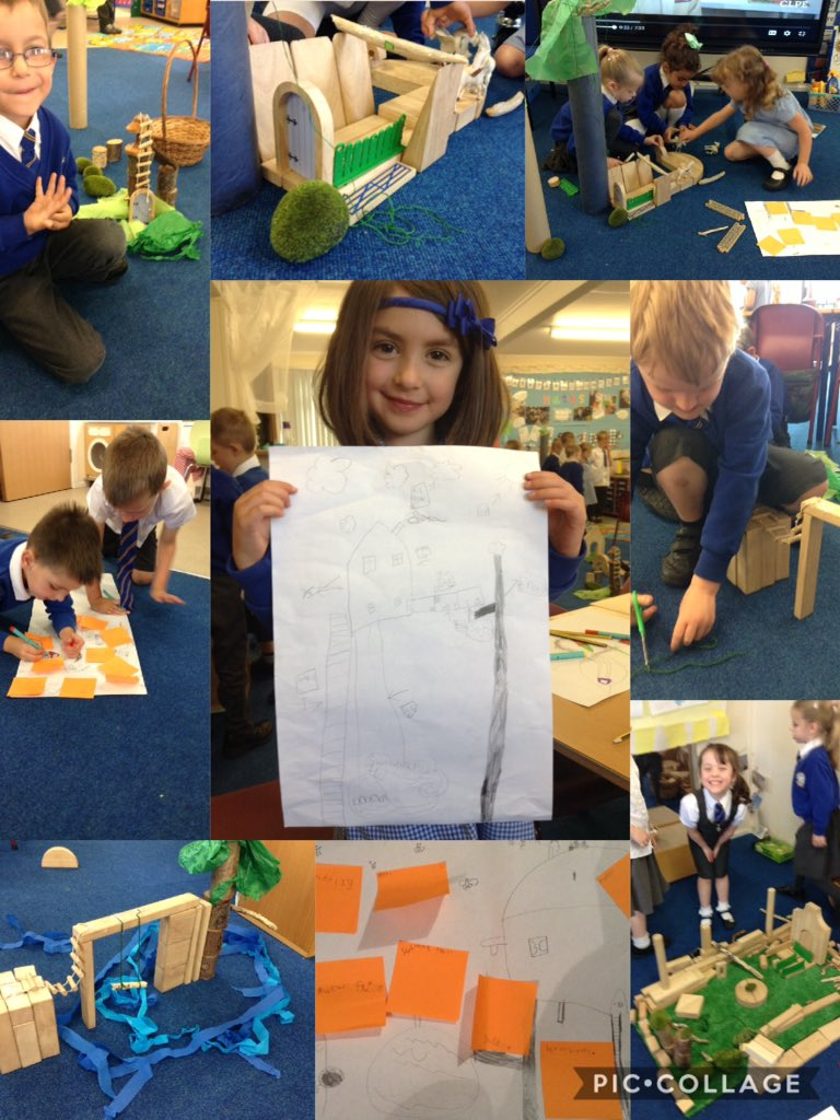 Thank you so much @CarterHiggins and Emily Hughes for inspiring our learning today. We have designed and created some amazing treehouses!