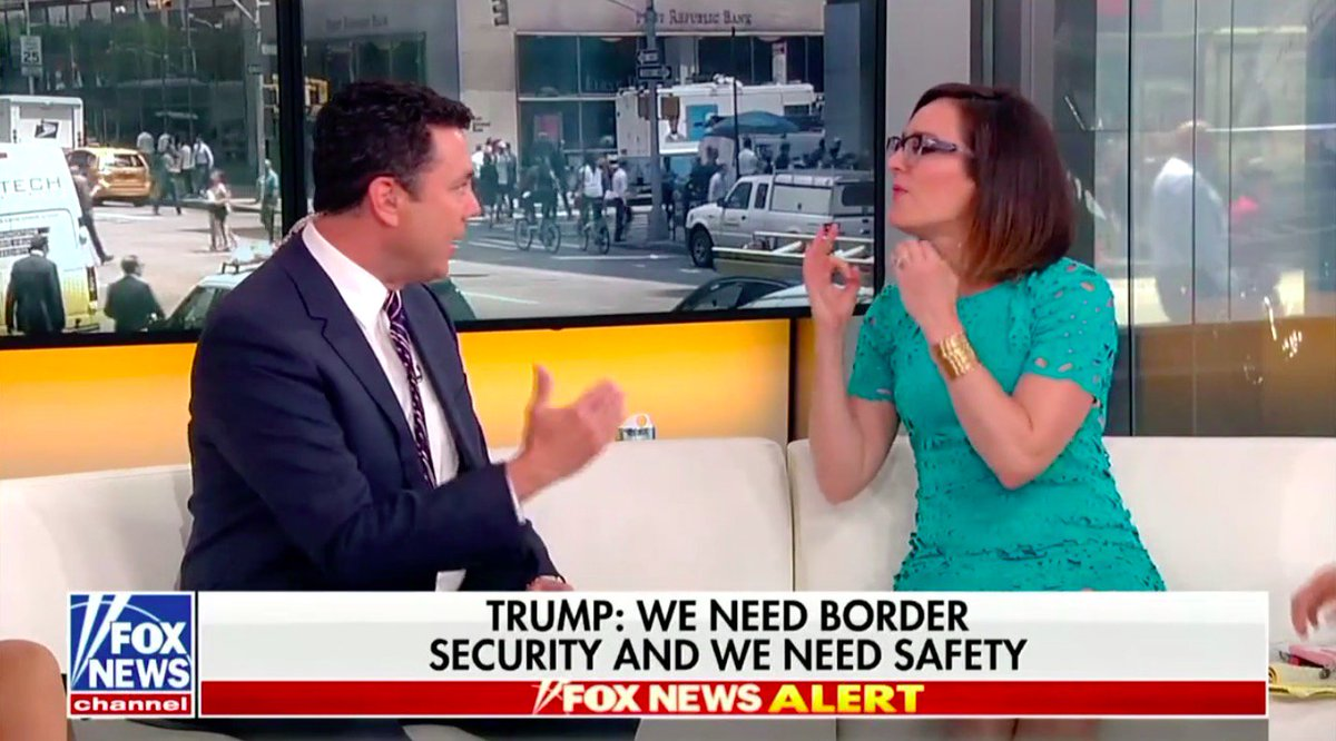 Fox News' Kennedy Slams Jason Chaffetz for Call to Vet Child Migrants: 'I'm Sure These Mini Rapists All Have Bombs' https://t.co/qrfl2uCjMr