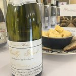 This expressive Pouilly Fumé is quite possibly and simply the finest Pouilly Fume. It is a benchmark wine of great stature, reflecting its limestone terroir with gunflint smoky characteristics. Spot-on with scampi. @andredezat #thewineexplorer #cellarclub #wineclub #winetasting