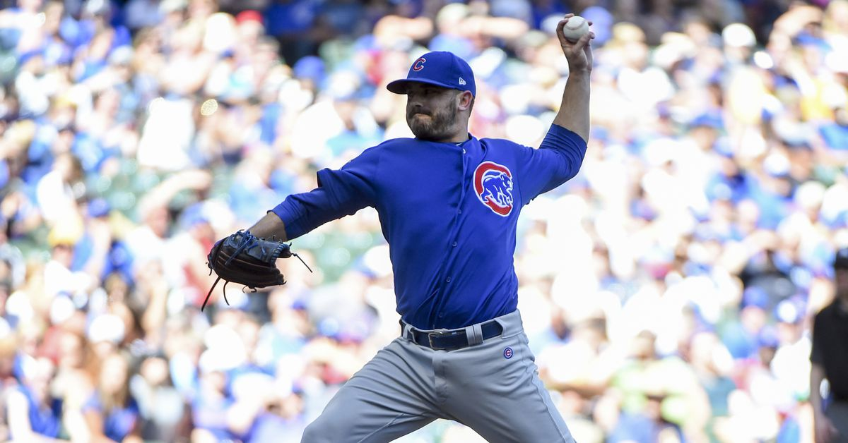 Cubs roster move: Brian Duensing to bereavement list, Rob Zastryzny recalled  https://www. bleedcubbieblue.com/2018/6/18/1747 6608/cubs-roster-move-brian-duensing-bereavement-list-rob-zastryzny-recalled &nbsp; … <br>http://pic.twitter.com/bfdxWNJ1ia