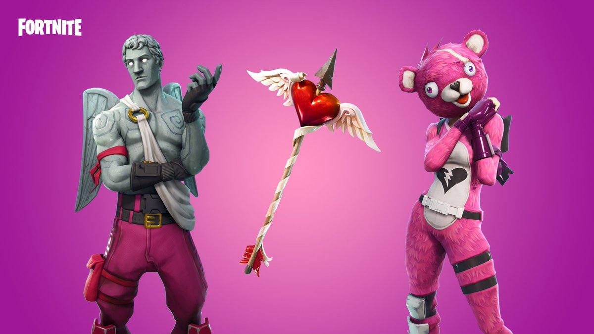 Aim for the heart! The Cuddle Team Leader and Love Ranger Outfits are available now.
