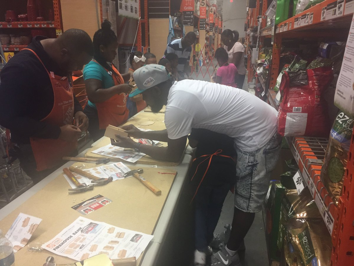 Here Are Some Pics From Our Father S Day Event At Home Depot We Love Fathers Http Www Theps279 Org Fathersday Publicschool Ps279bk