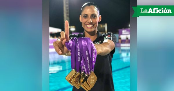 ¡Orgullo mexicano! ������‍♀️  Arrasan con todas las medallas de ORO en natación artística https://t.co/85YdPFiyYO https://t.co/OXcIHLrHfo
