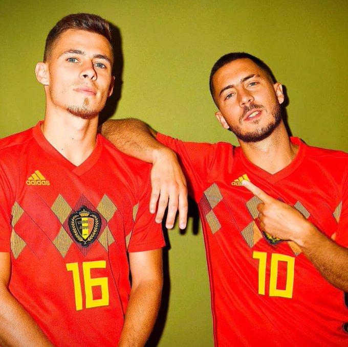 ¡SUEÑO CUMPLIDO🆗! Los hermanos belgas🇧🇪 Thorgan Hazard y Eden Hazard jugaron juntos por primera vez en una Copa del Mundo. Lo hicieron hoy ante Panamá. #rusia2018 Foto