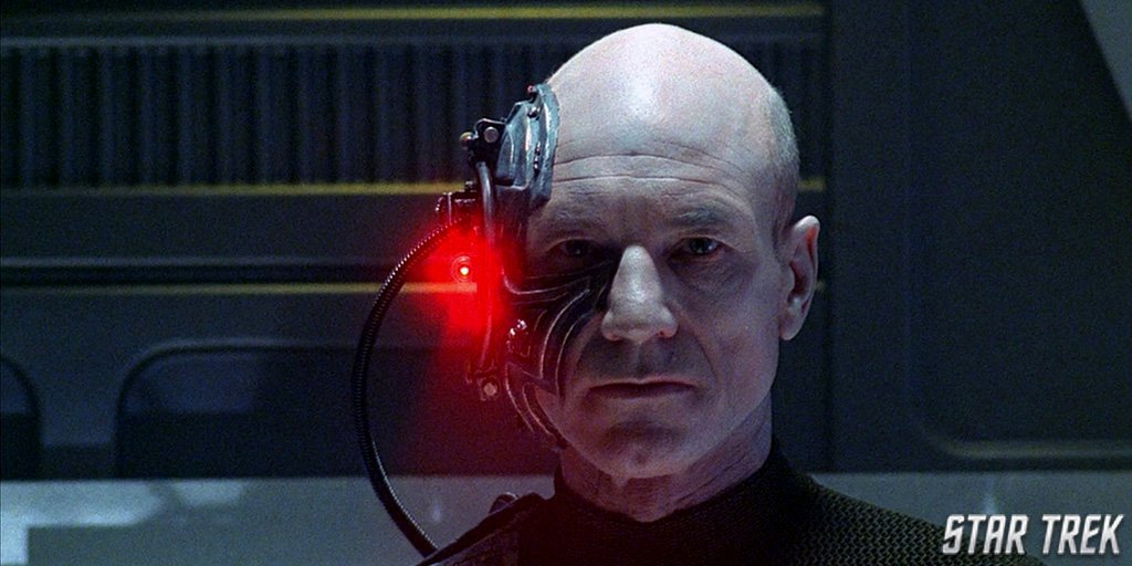 On this day in 1990, #StarTrek episode The Best of Both Worlds, Part 1 was released. What was your favorite scene? #TNG #Locutus #Borg