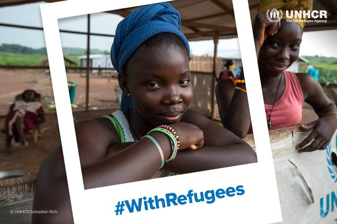 Now more than ever, we need to stand #WithRefugees. Please stand with us: Photo