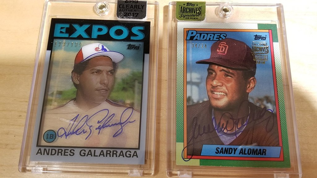 Two birthdays, two autographed #MLBCards.  RT for a chance and reply with which one you want! https://t.co/dszT4er9rz