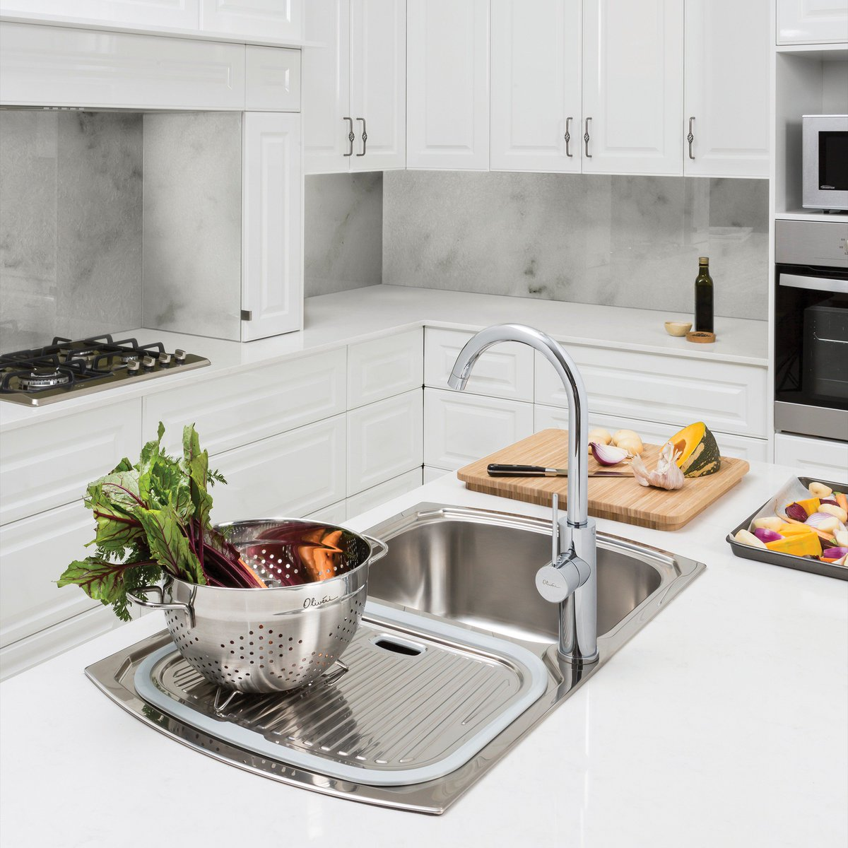 Oliveri Australia On Twitter Featuring Our Australia Made Double Bowl Monet Sink To Check Out Our Range Of Australian Made Sinks Head To Https T Co L69igs0f6l Oliveriau Adelaide Southaustralia Australianmadesink Monet Italianmadetap Mito