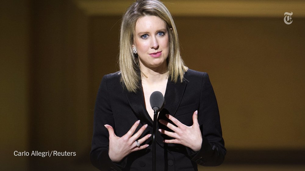 Once celebrated as a Silicon Valley unicorn, Theranos has become the latest tale of corporate hubris and investor myopia. Here's the latest on the indictment of Elizabeth Holmes, the company's founder: https://t.co/tMTTA6FrCp