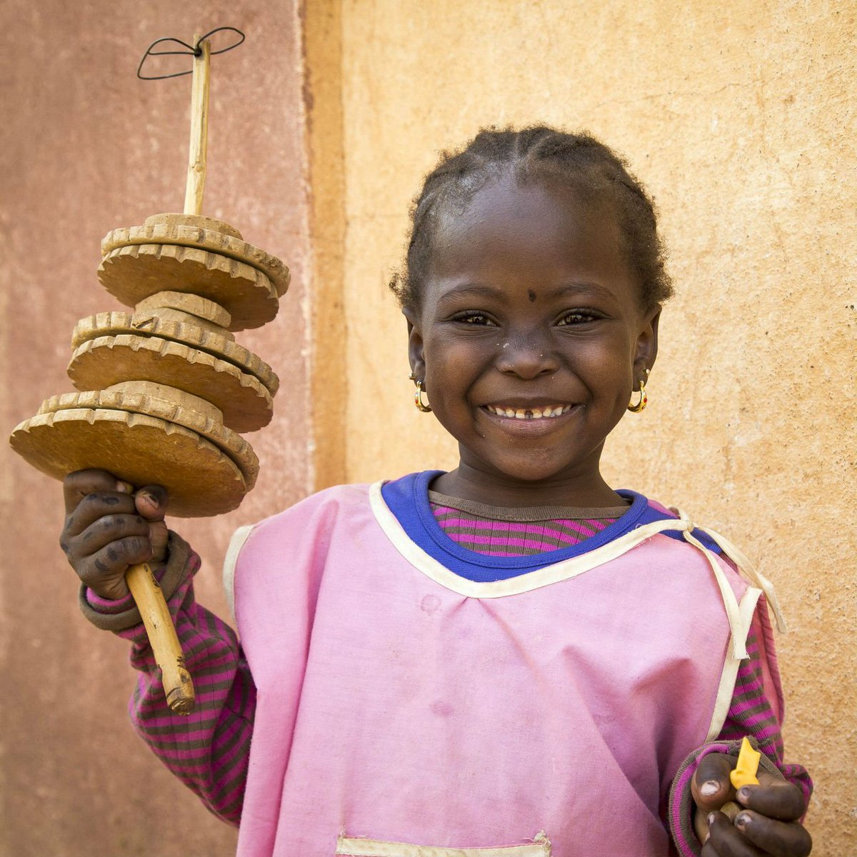 Do you remember your favourite game at school? #ForEveryChild, play 😄. @unicefmali