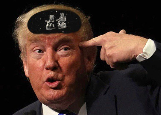 Personally, I welcome the creation of an elite new military branch to patrol the vast, dark void between Trumps ears. #SpaceForce