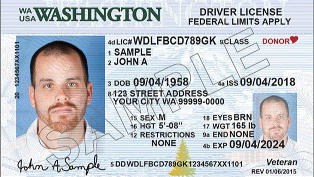 washington state drivers license change of address