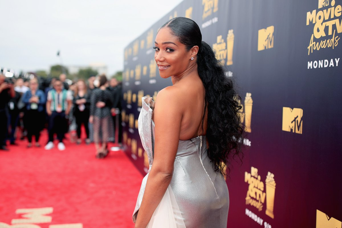 Reminder: @TiffanyHaddish is the first black woman to host the MTV Movie Awards 👏#MTVAwards https://t.co/u6Qk1Q1sLb