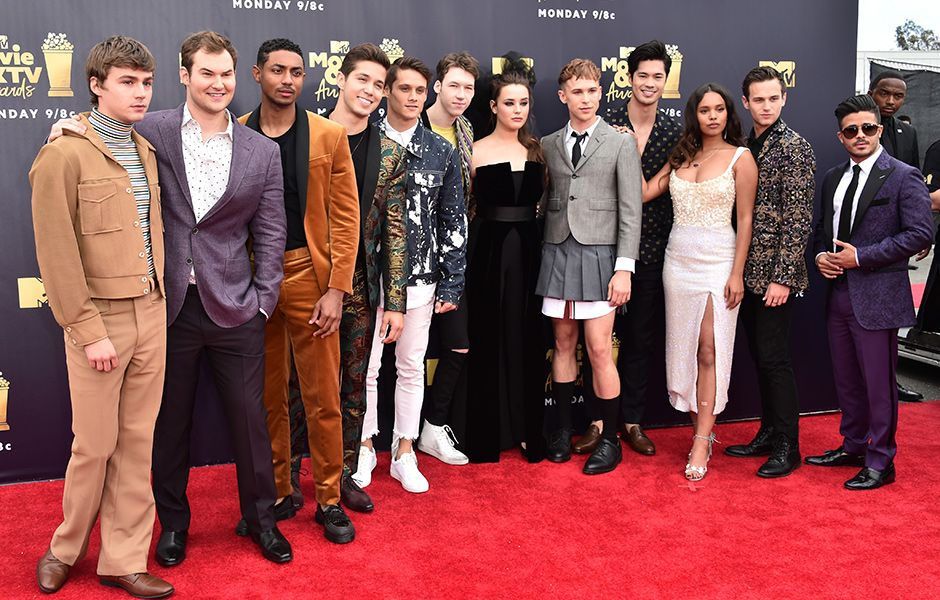 13 Reasons Why Cast MTV Movie and TV Awards! #redcarpet #4chionstyle #television #MTV #Style #fashion #fbloggers #fblogger<br>http://pic.twitter.com/hnQGt7CLf0