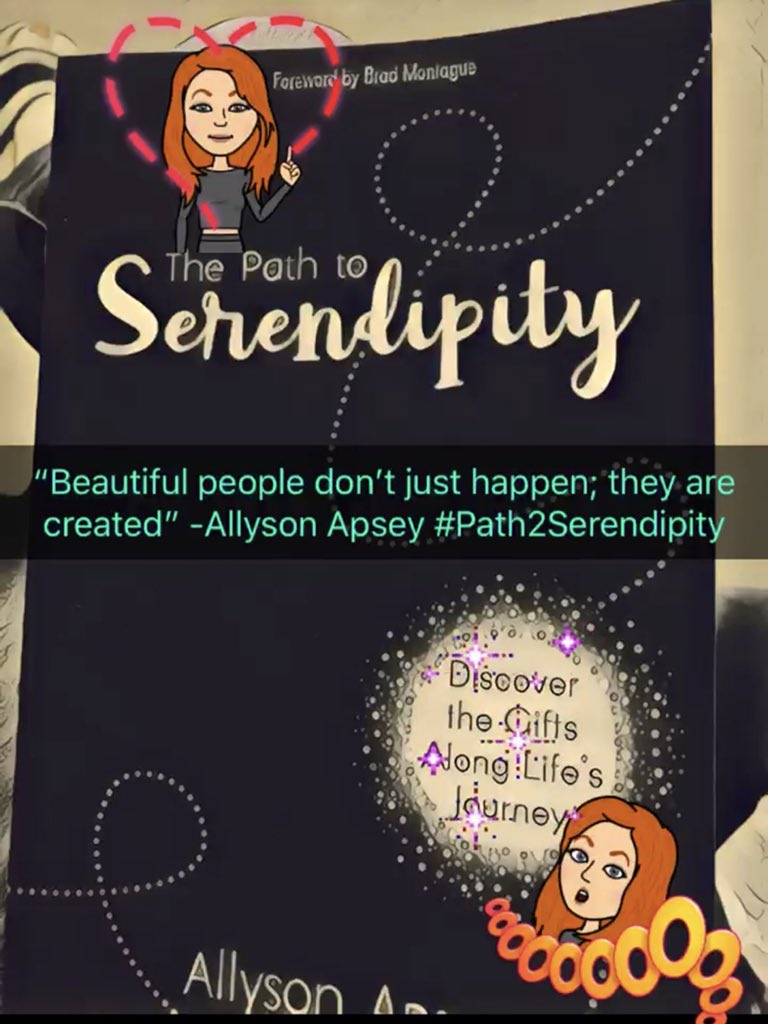 @AllysonApsey You are a big part of my world too Allyson! #Path2Serendipity #tlap