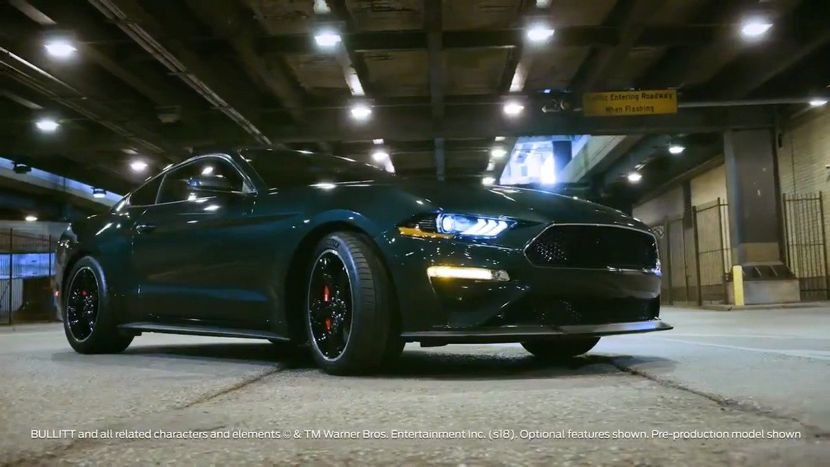 A legend, reborn. Are you ready for the Mustang BULLITT to hit Aussie roads?