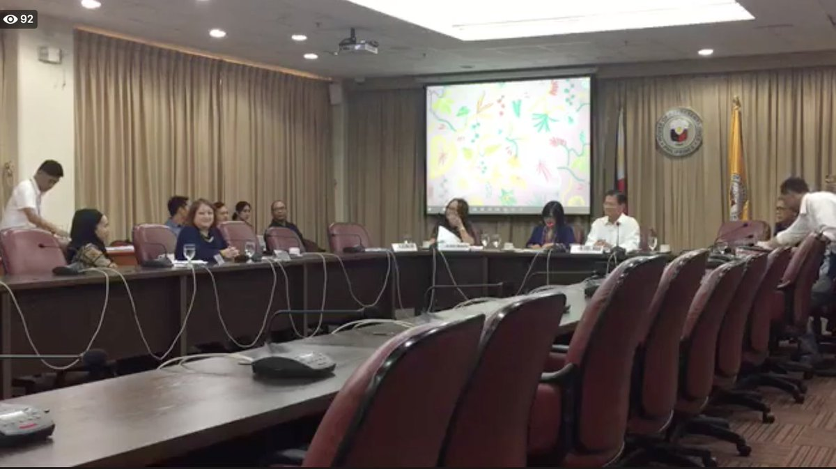 LIVE: House constitutional amendments committee hearing on the implementation of the Philippine Development Plan 2017-2022 in relation to federalism  Watch: https://t.co/wqCR2HBlEx