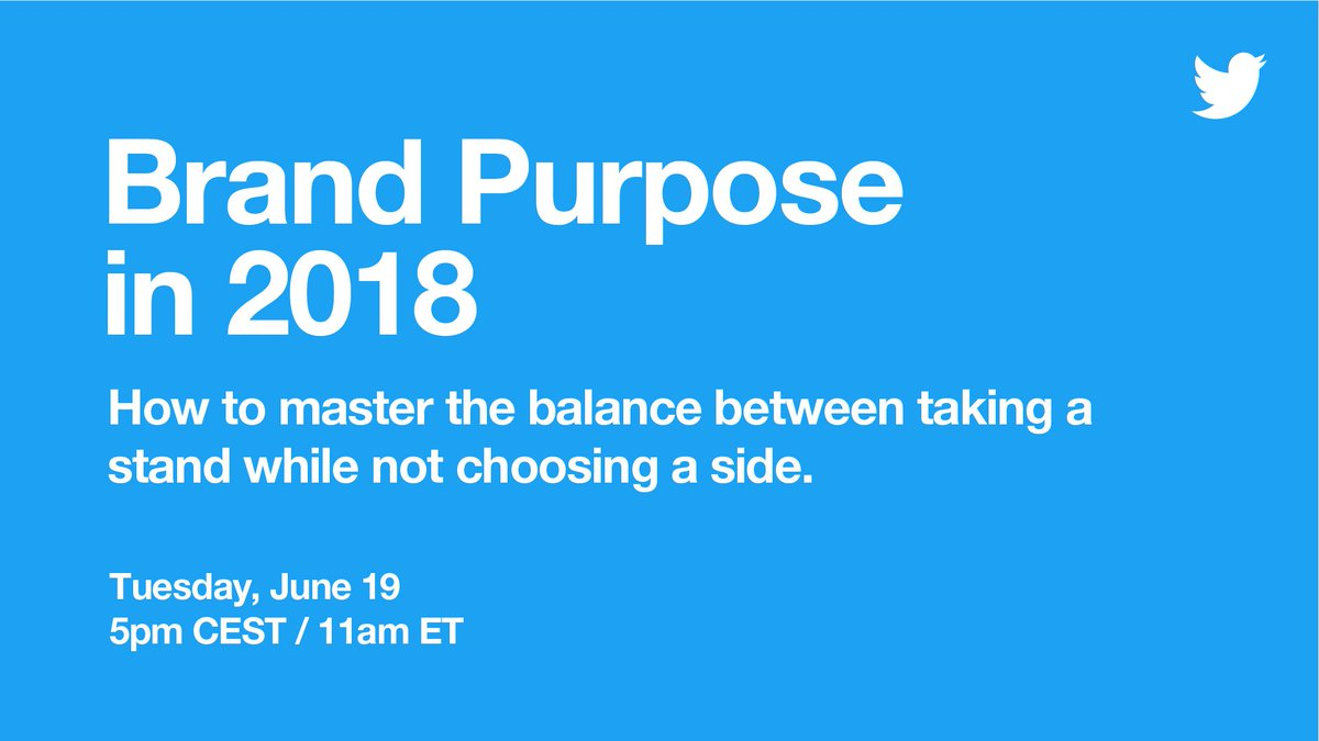 Marketing leaders are answering the call 📣 for their brands to have a bigger purpose.  Watch LIVE from #CannesLions on Tuesday, and learn how your brand can too.