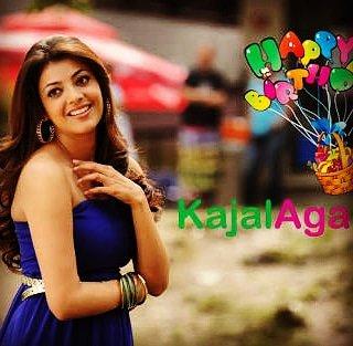 Kajal Agarwal S Birthday Celebration Happybday To