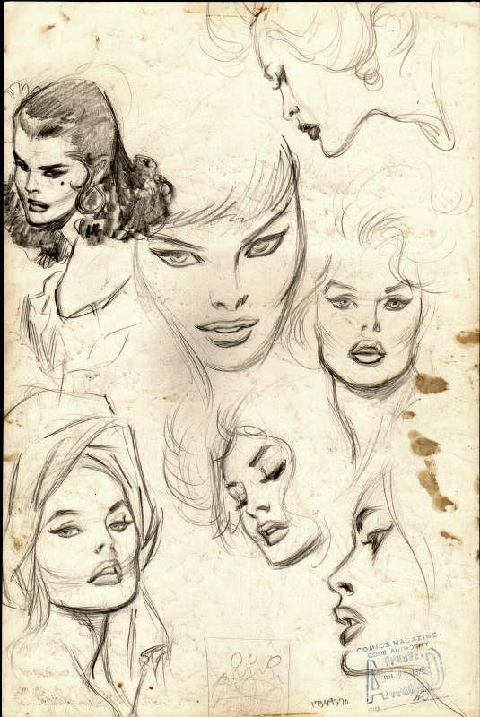 John Buscema sketches. https://t.co/Ega5gLkrPw