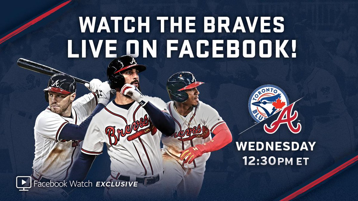 Mark your calendar: This Wednesday, our series finale vs. the Blue Jays will be aired exclusively on Facebook Watch!  ▶️ https://t.co/7puN7LJfGT