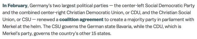 wow can you the two fundamental errors of fact in a single paragraph of this vox explainer on german politics Foto