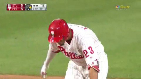 WE GOT OURSELVES A WALKOFF!!!  Altherr comes up BIG for the Phillies take the win 6-5 against the Cardinals. https://t.co/BNPTWqpUsu