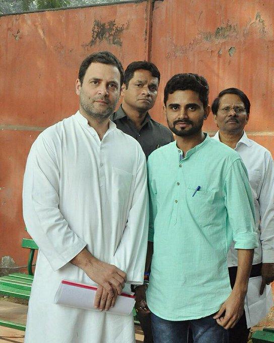 birthday# Hon. President Mr. Rahul Gandhi Ji ,Indian National Congress Party .