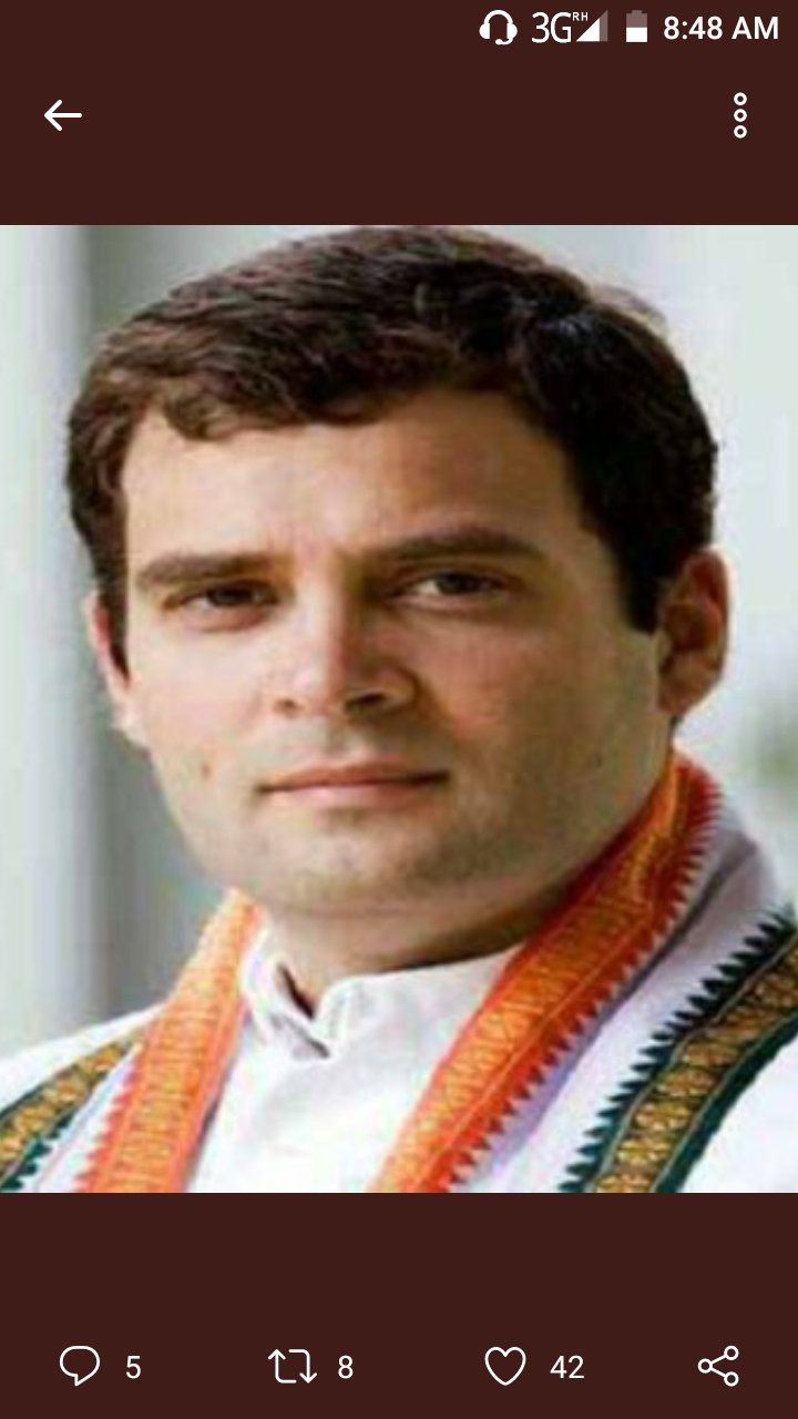 Happy birthday  Sri rahul gandhi ji