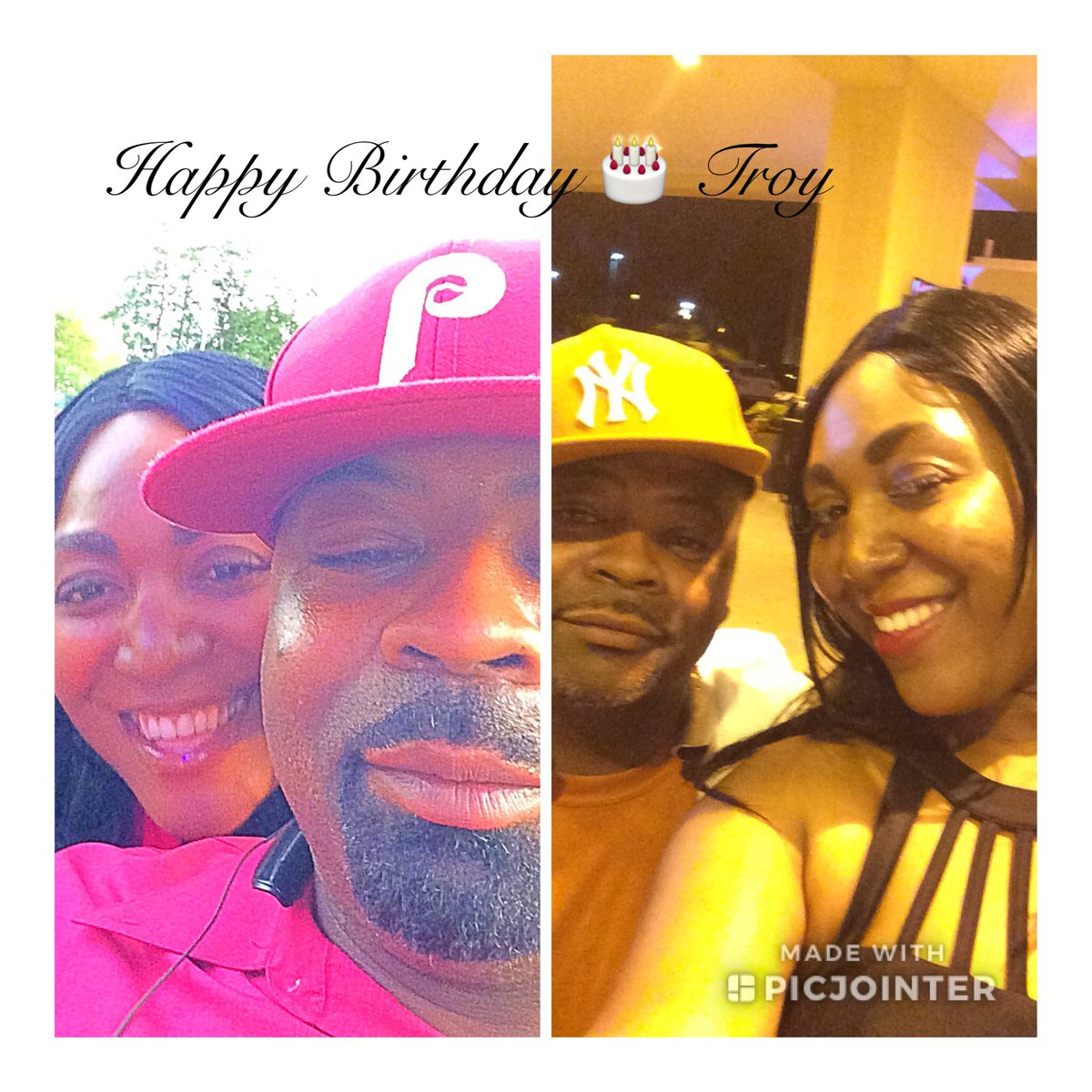 Happy Birthday 🎁🎂🎊🎉🎉🎈 @wondertroy2 again! Should I say #oldhead or #youngbull {inside joke} no really Troy thanks for keeping all the incredible artist legacies alive through your photographs. KING 👑 #TROYHUGHES HBD 📷📸 @DarleneOGOrtiz @KingBobbyBrown