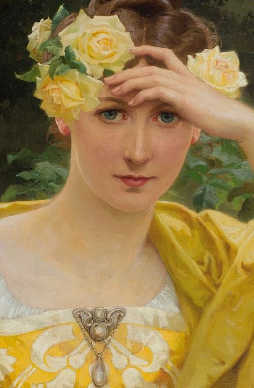 "helen warlow on Twitter: ""Elisabeth Sonrel (1874-1953 French) if ..."