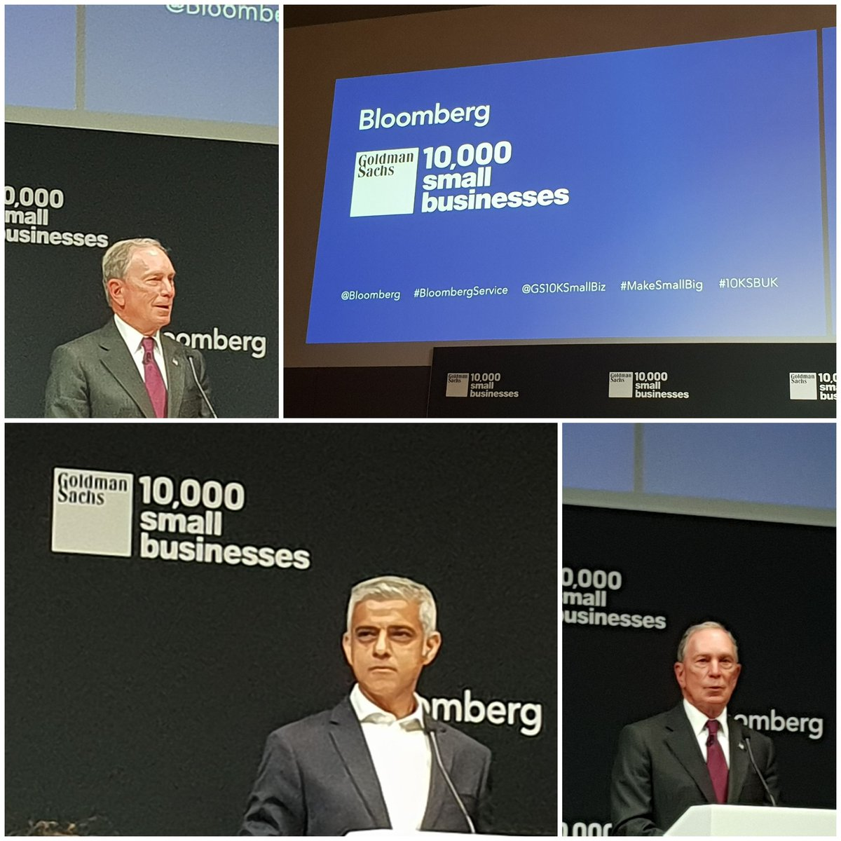 At the incredible new @Bloomberg HQ with @GS10KSmallBiz rethinking productivity, with insights from @SadiqKhan and @MikeBloomberg #makesmallbig #10KSBUK<br>http://pic.twitter.com/7wQ2lMKCVr