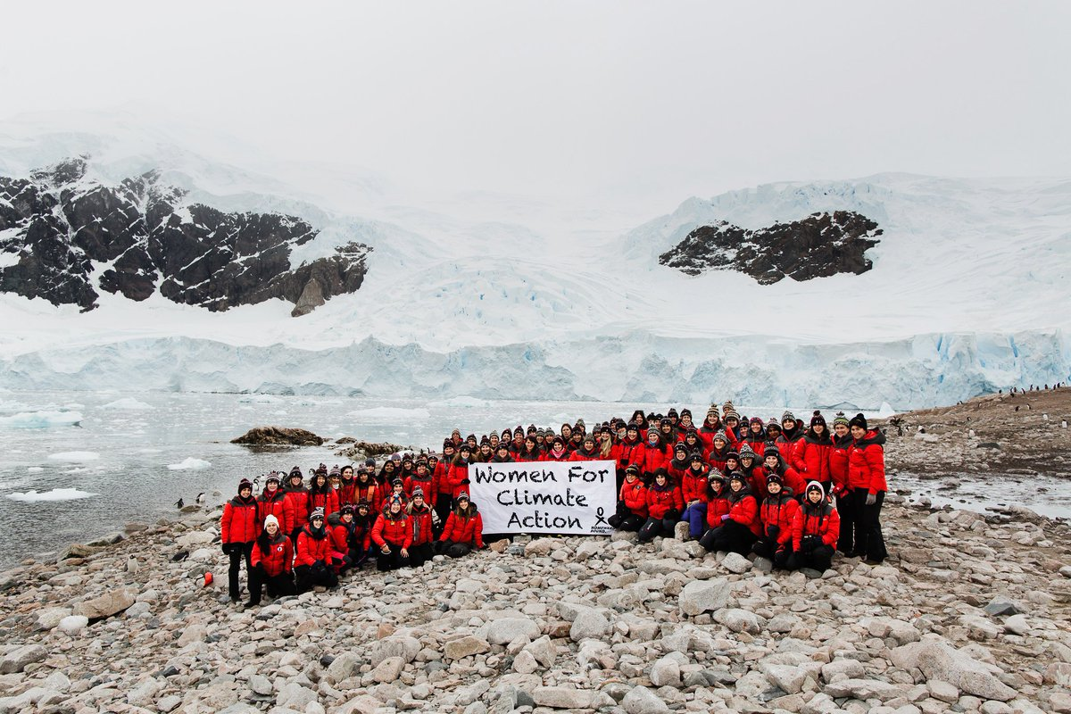 Psyched to head to #Antarctica with a ship full of amazing #ImmodestWomen @HomewardBound16 from across the globe &amp; a variety of STEM backgrounds. Students to Profs. Science professionals to medics. Science communicators to science educators. #TeamHB2019 #WomenforClimateAction<br>http://pic.twitter.com/ZHLEqDM1Sn