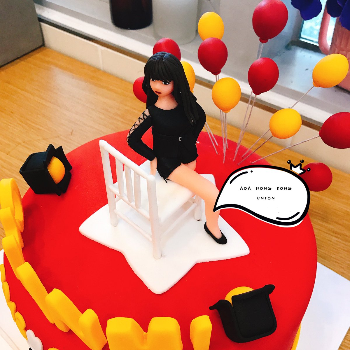 AOA HONG KONG UNION On Twitter Our Birthday Cake To Chanmi Has