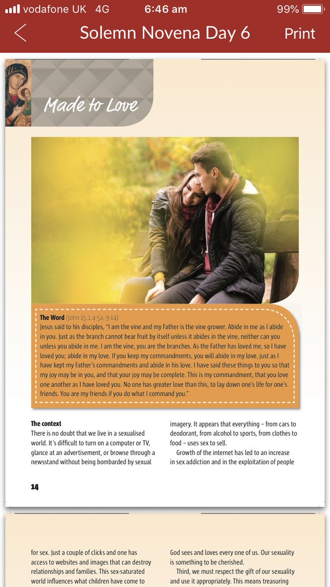 Novena for love relationships