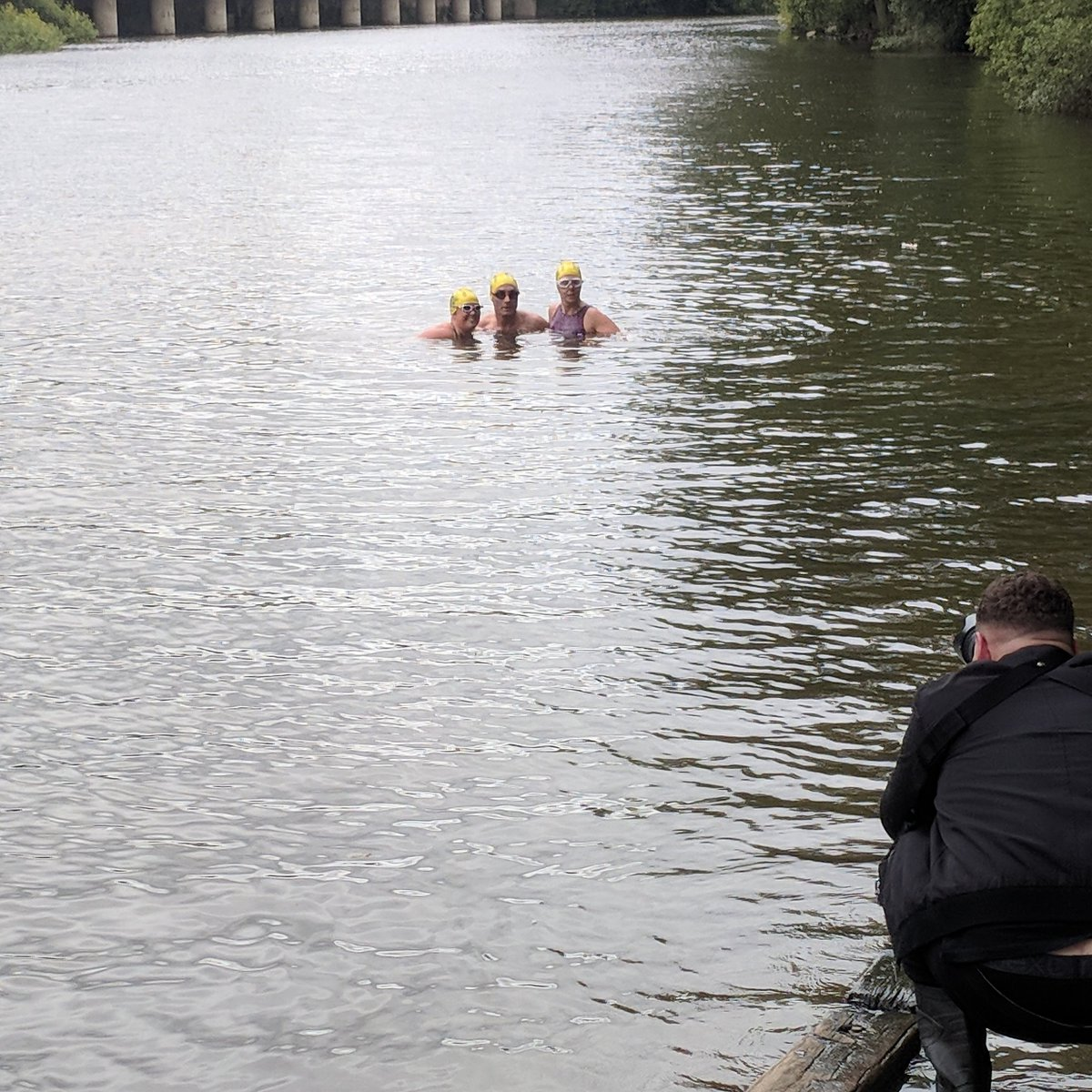 Met with the English Channel swimmers in Shrewsbury yesterday. Just a few days later they were throwing themselves back into the River Severn for a photoshoot with @JamieRicketts_. Full feature in Friday&#39;s @shropsweekly. #Englishchannel #swimming #shropshireweekly #Shrewsbury<br>http://pic.twitter.com/yZP28qZPOQ