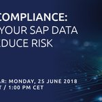 What are your options for #GDPR compliance? How can EPI-USE Labs help you reduce risk? Find out at our webinar on 25 June - one month after the GDPR compliance deadline. Register now: https://t.co/kEJB3Pxlzn