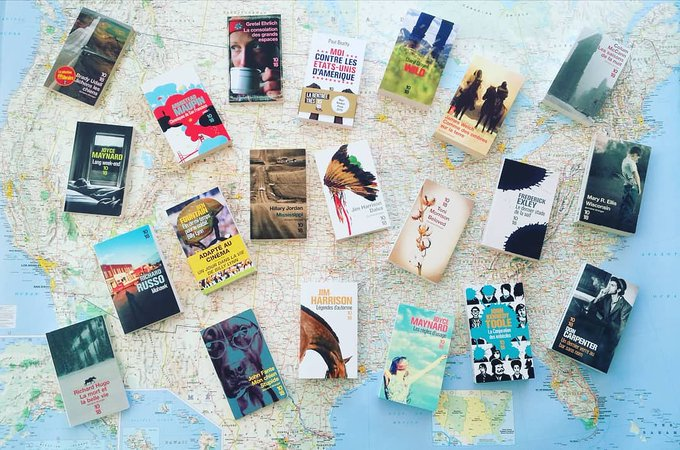 #MardiConseil - Voici une sélection 100% @Editions1018 pour tous les amoureux de littérature nord-américaine 😊❤📚📖 #PicaboRiverBookClub Photo
