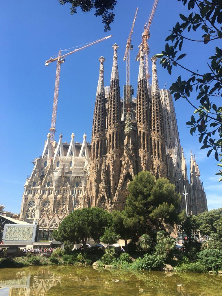 nicole stott on twitter gaudi architecture tour barcelona gaudi