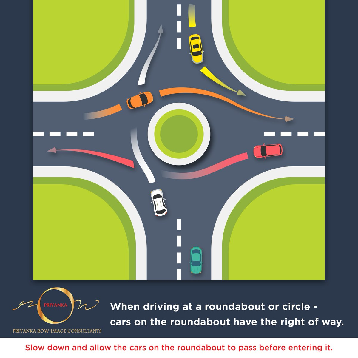 When it comes to driving, Road Etiquette and Politeness are the key principles to live by.  Practice social courtesy!  #PRIMAC #SocialEtiquette #RoadEtiquette #courtesy #roundabout #drivingrules #learning<br>http://pic.twitter.com/9diBIKjdN4
